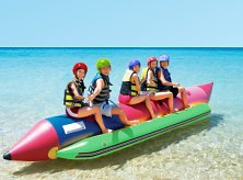 Ready for the banana boat ride of a lifetime!