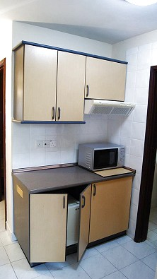 Private kitchenette for those who BYO