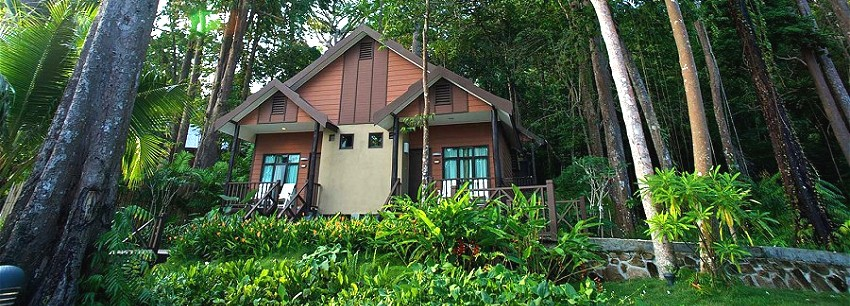 Our green Tioman Retreat is a luxury boutique hotel. Welcome to your paradise dream
