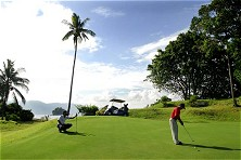 Tioman golf: challenging holes<br>and spectacular panoramas