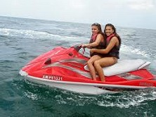 Our jetskis are positively brimming with power, yet easy to control
