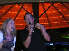 Karaoke fun in Tioman